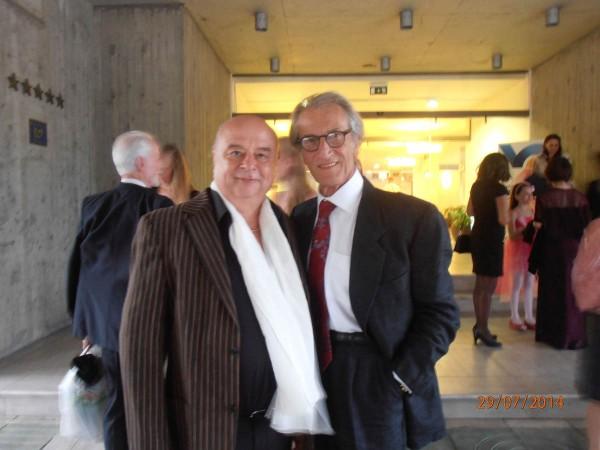 Hans Vogl mit Cyrille Atanassoff (Frankreich)