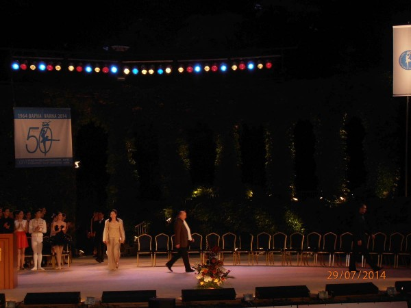 Preisverleihung des Ballettwettbewerbs Varna 2014