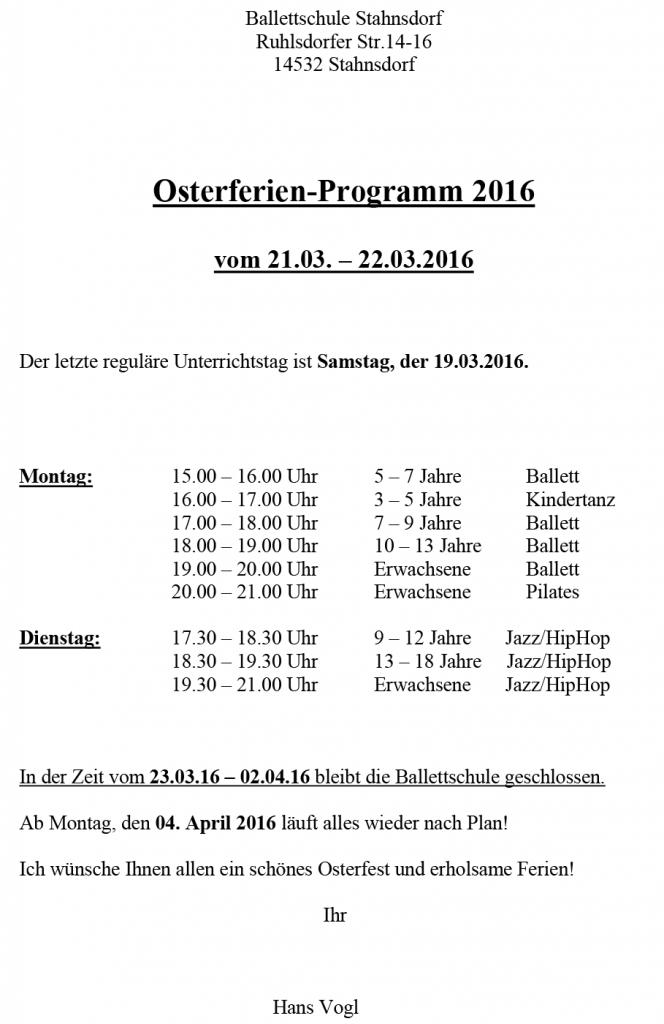 Osterferien-Programm-Ballettschule-Stahnsdorf